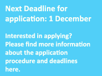 Next Deadline for applicaton